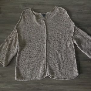 Light Pink Towl Sweater